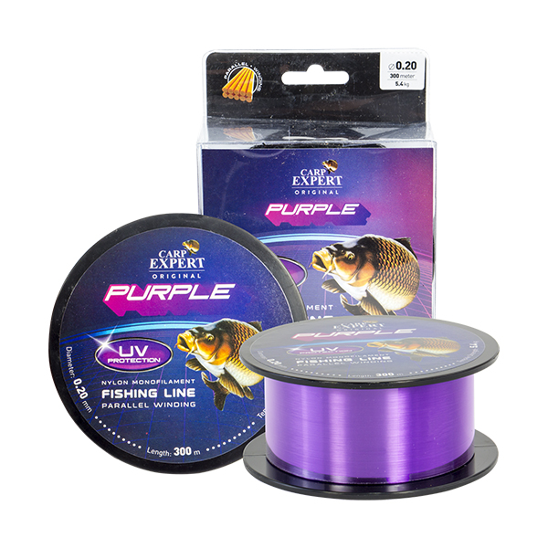 CARP EXPERT UV PURPLE 0,25 1000M 8,9 PURPLE